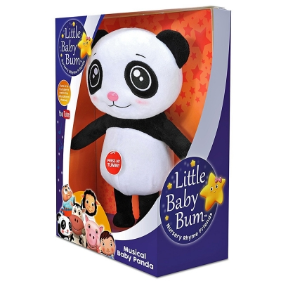KD TOYS Little Baby Bum Baby Panda Musical Plush Toy - 1+ Months