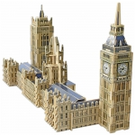 EDUCA London's Big Ben & House of Parliament 3D Monument Puzzle