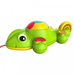 KD TOYS Infinifun Curious Chameleon Pull Along Toy - 12+ Months