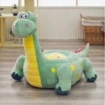 Liberty House Toys Plush Dinosaur Sofa Riding Chairs Green