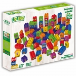 Biobuddi Learn to Build Building blocks 100 Blocks Building Playset