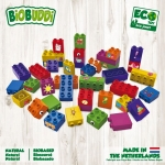 Biobuddi Learn to Build Building blocks 40 Blocks Building Playset