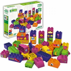 Biobuddi Princess Dress Up Build blocks & 1 Baseplate 40 P..