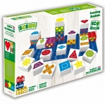 Biobuddi Learning Shapes Build blocks & 1 Baseplate 27 Piece Playset