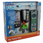 KD TOYS Infinifun My Tech Trio Toy Kids Gadget Pack - 18+ Months