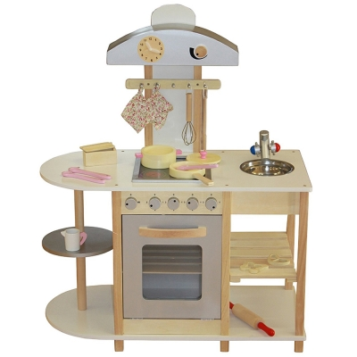 Liberty House Breakfast Bar Wooden Toy Kitchen & Accessories