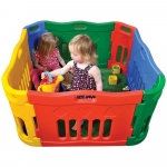 Jolly Kids Versatile Outdoor Indoor Playpen 0+ Months