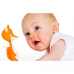 Mooncow Ethan the Fox - Teething Toy 0+ Months