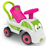 FUNBEE Girls My First Ride-On with Push Bar White 12+ Months
