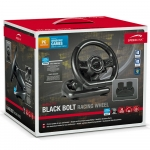 SPEEDLINK Black Bolt PC Gaming Racing Wheel With Pedals - Black
