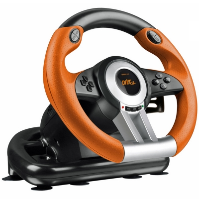 SPEEDLINK Drift O.Z. PC Gaming Racing Wheel with Pedals and Gear Stick