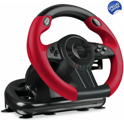 SPEEDLINK Trailblazer Xbox One/PC Gaming Racing Wheel with Pedals