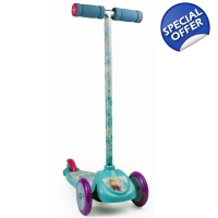 DISNEY Frozen Kid's FLEX Three Wheel Scooter Lar..