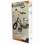 FUNBEE Cross Scooter with 12-Inch Inflatable Wheels - 7+ Years