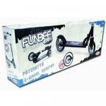 FUNBEE Street One 2 Wheel Scooter with Adjustable Height/Rear Brake