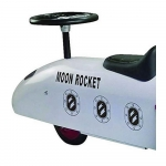 Great Gizmos Ride on Moon Rocket - 12+ Months