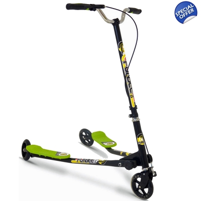 FUNBEE Duo Foldable 3 Wheel Kids Scooter - 6+ Years