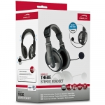 SPEEDLINK Thebe PC/Audio Stereo Headset - Black