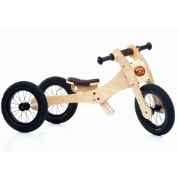 Trybike 4 in 1 Wooden Balance Bike - 12+ Months