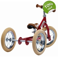 Trybike 2 in 1 Steel Vintage Balance Bike - 15+ ..