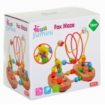 Jumini Fox Maze Puzzle Childrens Traditional Bead Puzzle - + 18 Months