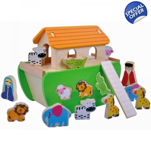 Jumini Childrens Wooden Noah..