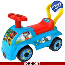 Paw Patrol My First Ride-on with Push Bar - 12+ ..