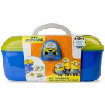 MINIONS Kids Tool Box with 60 Piece Creative Activity Set -3+ Years