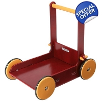 Moover Wooden Baby Walker - 8+ Months