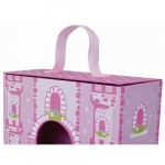Jumini Childrens Wooden Characters Foldaway Unicorn Castle