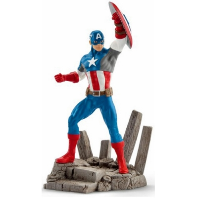 MARVEL COMICS Captain America Superhero Figure - 3+ Years