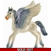 SCHLEICH Bayala Pegasus Foal Toy Figure - 3+ Years