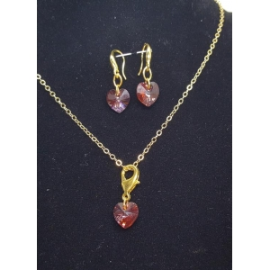 Crystal Swarosvsky Necklace Set