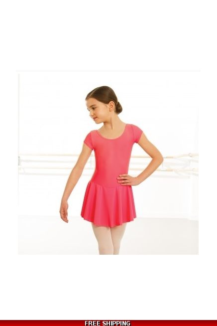 Pink Skirted Leotard