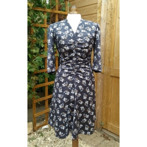 'Veronica' Gathered Dress