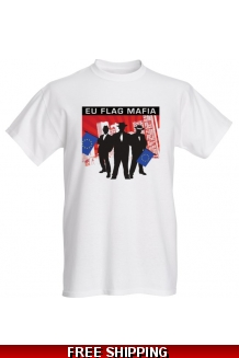 EU Flag Mafia Mens T-shirt *UK Only* Limited Edition includes UK shipping