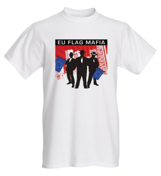 EU Flag Mafia Mens T-shirt