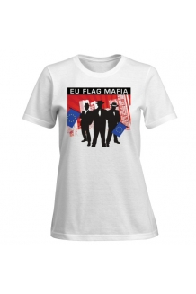 EU Flag Mafia Ladies T-Shirt