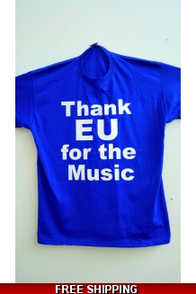 'Thank EU for the Music' Flags at the Proms T-shirts *UK Only all XL