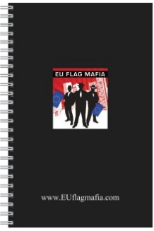 EU Flag Mafia branded Pad & Pen