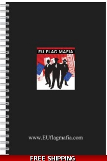 EU Flag Mafia branded Pad & Pen *UK only* includes UK delivery and VAT