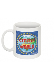 Citizen of the World Mug by Albawhitewolf *UK Only. Price includes shipping