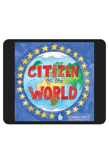 Citizen of the World Mouse Mat