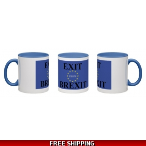 Exit from Brexit EU Mug *UK only - Price includes delivery