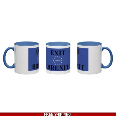 Exit from Brexit EU Mug..