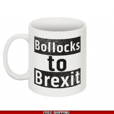 Bollocks to Brexit Mug ..