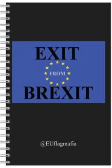 Exit from Brexit lined paper pad
