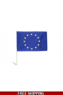 EU CAR FLAG - UK ONLY