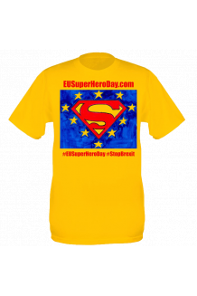 EU Super Hero Day T-shirt