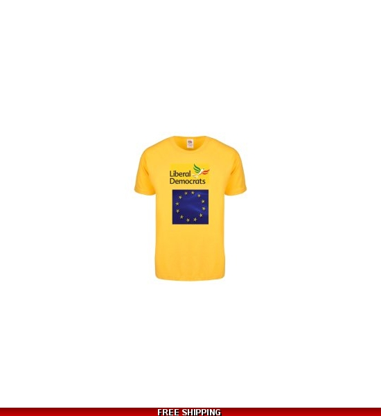 Italian LibDems model T-Shirt Includes UK Shipping *UK only for the moment* from Nov